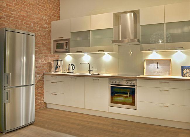 Küche - Ferienwohnung Gracia in der Villa Patricia auf Borkum ...