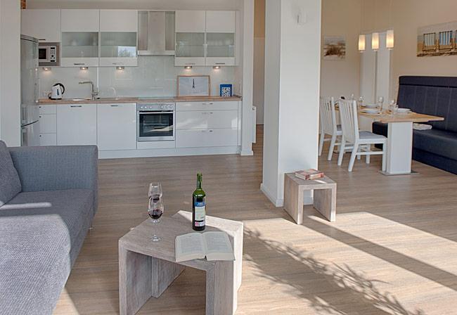 Küche - Ferienwohnung Gracia in der Villa Patricia auf ...