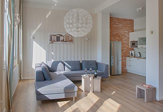 wohnzimmer ferienwohnung gracia in der villa patricia auf borkum entspannung pur auf der. Black Bedroom Furniture Sets. Home Design Ideas